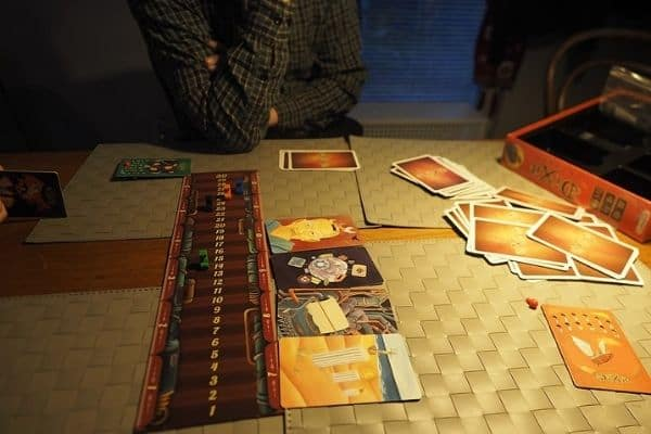 People playing a multiplayer board game