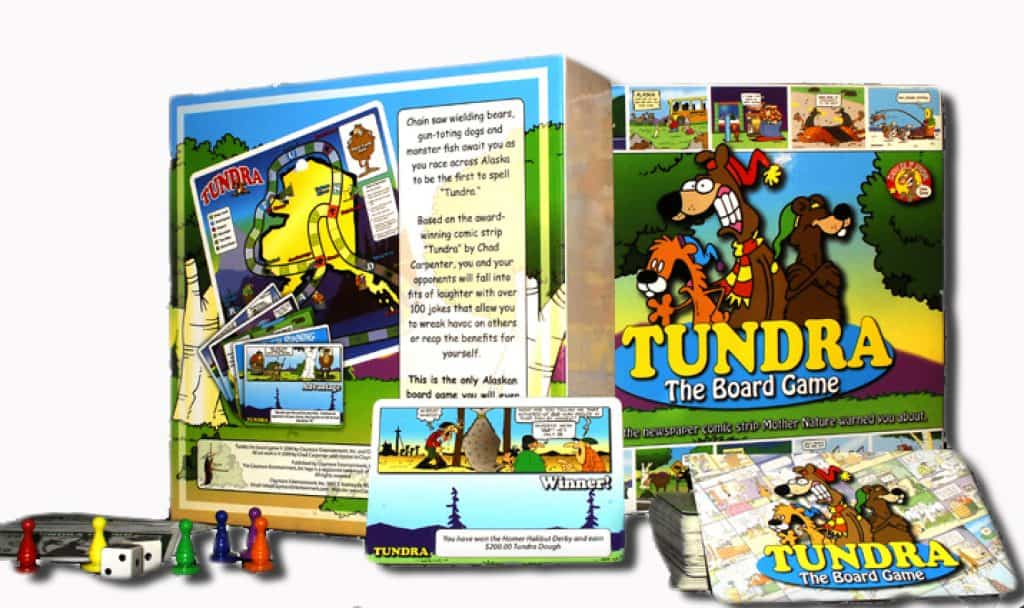 Tundra board game