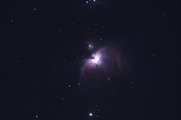 Telescope photo with color filter