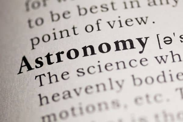 Definition of astronomy