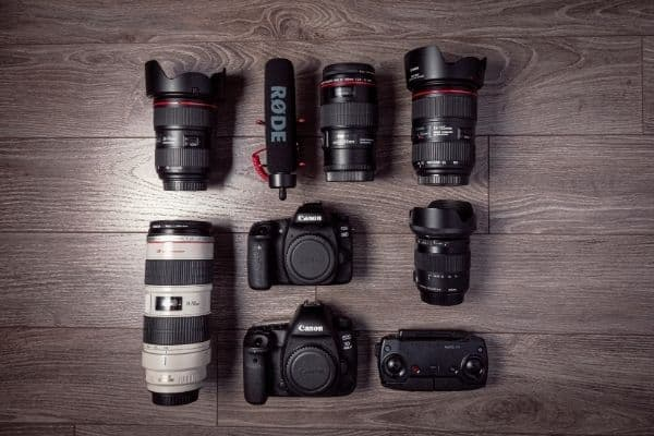 Different types of canon lens