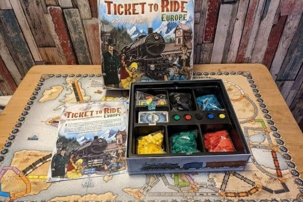 TIcket to Ride unboxed