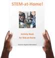 FREE STEM-at-Home activity book - 17 pages